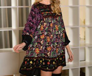 Cat de dificil este sa porti o rochie traditionala ca tinuta de zi sau de seara?